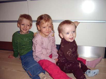 Mine 3 børn