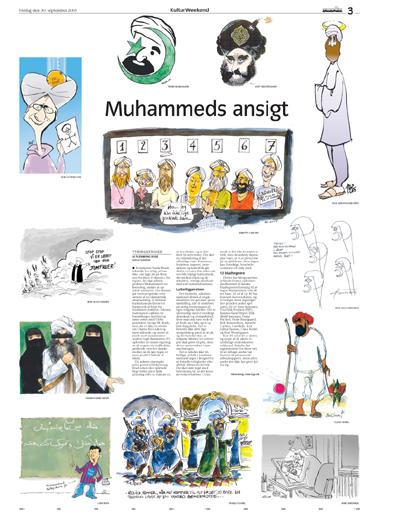 Alle Muhammedtegningerne