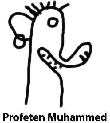 Min egen Muhammedtegning