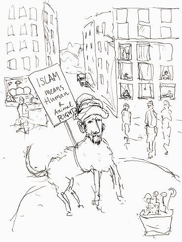 Lars Vilks Muhammedtegning